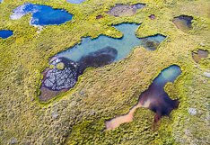 Lakes in central Iceland