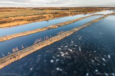 Vorst in De Wieden, gefotografeerd met een camera drone