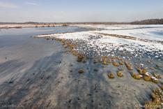 Haaksbergerveen in de winter, gefotografeerd met een camera drone door Paul Oostveen.